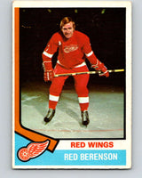 1974-75 O-Pee-Chee #19 Red Berenson  Detroit Red Wings  V4258