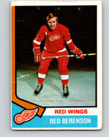 1974-75 O-Pee-Chee #19 Red Berenson  Detroit Red Wings  V4259