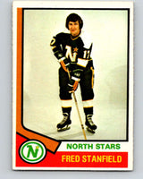 1974-75 O-Pee-Chee #31 Fred Stanfield  Minnesota North Stars  V4285