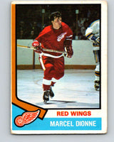 1974-75 O-Pee-Chee #72 Marcel Dionne  Detroit Red Wings  V4371