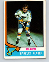 1974-75 O-Pee-Chee #87 Barclay Plager  St. Louis Blues  V4400