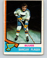 1974-75 O-Pee-Chee #87 Barclay Plager  St. Louis Blues  V4401