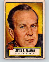 1952 Topps Look 'n See #99 Lester B. Pearson Delegate Vintage Card V5186