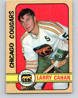 1972-73 WHA O-Pee-Chee  #307 Larry Cahan  Chicago Cougars  V6956