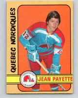1972-73 WHA O-Pee-Chee  #311 Jean Payette  RC Rookie Quebec Nordiques  V6961