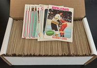1975-76 O-Pee-Chee NHL Hockey Complete Set 1-396 Ex-Mt *0169