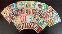 1979-80 Topps Team Stickers Complete Set 1-21 Vintage Hockey 08231