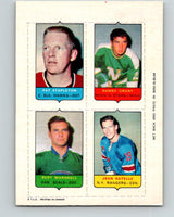 V7490--1969-70 O-Pee-Chee Four-in-One Stapleton/Grant/Marshall/Ratelle