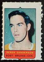 V7494--1969-70 O-Pee-Chee Four-in-One Mini Card Derek Sanderson