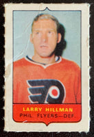 V7496--1969-70 O-Pee-Chee Four-in-One Mini Card Larry Hillman