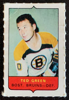 V7497--1969-70 O-Pee-Chee Four-in-One Mini Card Ted Green