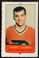 V7503--1969-70 O-Pee-Chee Four-in-One Mini Card Andre Lacroix