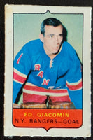 V7504--1969-70 O-Pee-Chee Four-in-One Mini Card Ed Giacomin