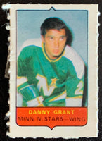 V7506--1969-70 O-Pee-Chee Four-in-One Mini Card Danny Grant