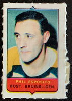 V7509--1969-70 O-Pee-Chee Four-in-One Mini Card Phil Esposito