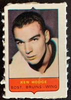 V7512--1969-70 O-Pee-Chee Four-in-One Mini Card Ken Hodge
