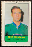 V7515--1969-70 O-Pee-Chee Four-in-One Mini Card Bert Marshall
