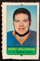 V7516--1969-70 O-Pee-Chee Four-in-One Mini Card Gerry Desjardins