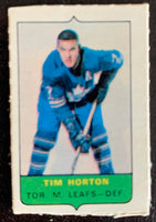V7517--1969-70 O-Pee-Chee Four-in-One Mini Card Tim Horton