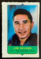 V7519--1969-70 O-Pee-Chee Four-in-One Mini Card Jim Neilson