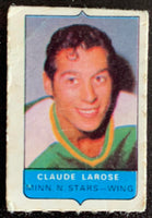 V7522--1969-70 O-Pee-Chee Four-in-One Mini Card Claude Larose