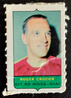V7524--1969-70 O-Pee-Chee Four-in-One Mini Card Roger Crozier