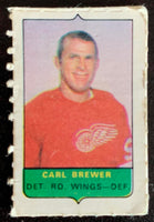 V7531--1969-70 O-Pee-Chee Four-in-One Mini Card Carl Brewer