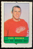 V7534--1969-70 O-Pee-Chee Four-in-One Mini Card Carl Brewer