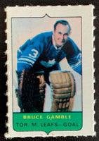 V7535--1969-70 O-Pee-Chee Four-in-One Mini Card Bruce Gamble