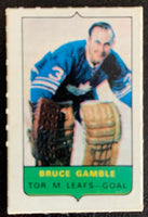 V7536--1969-70 O-Pee-Chee Four-in-One Mini Card Bruce Gamble