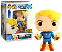 Funko Pop - 569 Marvel Fantastic Four - Human Torch Vinyl Figure *EXCLUSIVE
