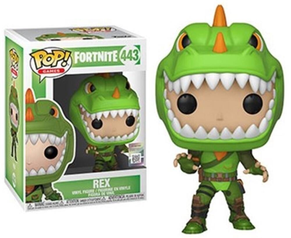 Funko Pop - 443 Games Fortnite - Rex Vinyl Figure