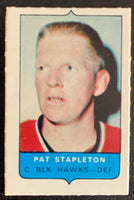 V7537--1969-70 O-Pee-Chee Four-in-One Mini Card Pat Stapleton