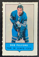 V7539--1969-70 O-Pee-Chee Four-in-One Mini Card Bob Pulford