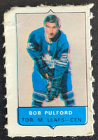 V7540--1969-70 O-Pee-Chee Four-in-One Mini Card Bob Pulford