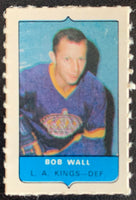 V7544--1969-70 O-Pee-Chee Four-in-One Mini Card Bob Wall