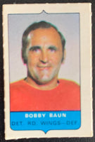 V7547--1969-70 O-Pee-Chee Four-in-One Mini Card Bobby Baun