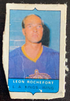 V7548--1969-70 O-Pee-Chee Four-in-One Mini Card Leon Rochefort
