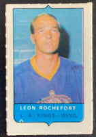 V7549--1969-70 O-Pee-Chee Four-in-One Mini Card Leon Rochefort