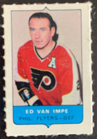 V7553--1969-70 O-Pee-Chee Four-in-One Mini Card Ed Van Impe