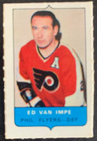 V7554--1969-70 O-Pee-Chee Four-in-One Mini Card Ed Van Impe