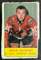 V7557--1969-70 O-Pee-Chee Four-in-One Mini Card Denis DeJordy