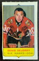 V7558--1969-70 O-Pee-Chee Four-in-One Mini Card Denis DeJordy