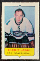 V7566--1969-70 O-Pee-Chee Four-in-One Mini Card Charlie Hodge