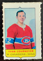 V7567--1969-70 O-Pee-Chee Four-in-One Mini Card Yvan Cournoyer