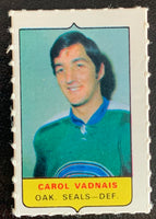 V7569--1969-70 O-Pee-Chee Four-in-One Mini Card Carol Vandais