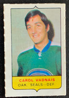 V7570--1969-70 O-Pee-Chee Four-in-One Mini Card Carol Vandais