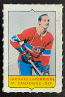 V7571--1969-70 O-Pee-Chee Four-in-One Mini Card Jacques Laperriere