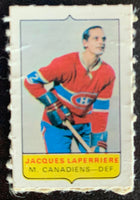 V7572--1969-70 O-Pee-Chee Four-in-One Mini Card Jacques Laperriere