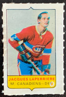 V7573--1969-70 O-Pee-Chee Four-in-One Mini Card Jacques Laperriere